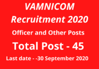 VAMNICOM-Recruitment-2020