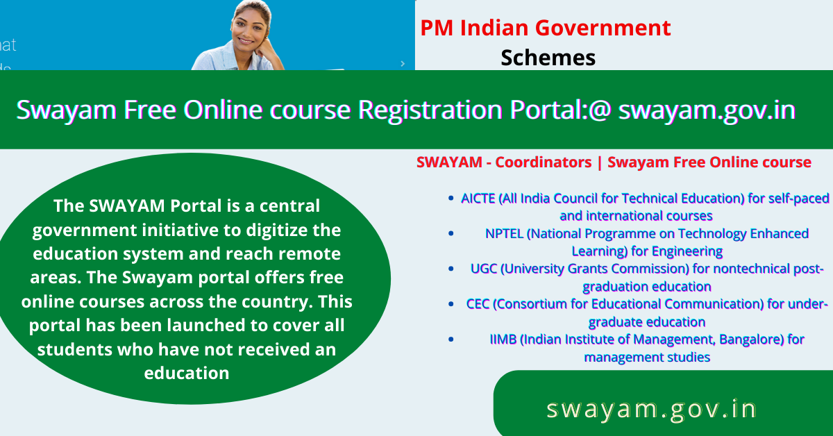 Swayam Free Online course Registration Portal_@ swayam.gov.in